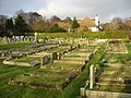 Graveyard of St John's church, Kingsdown - geograph.org.uk - 1097360.jpg
