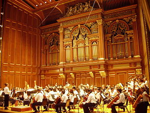 New England Conservatory of Music - The Boston Youth Symphony Orchestra performing in Jordan Hall.