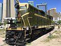 Green locomotive of Canadian National Railway.jpg