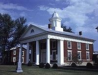 Greene County Courthouse (Built 1838), Stanardsville, (Greene County, Virginia).jpg