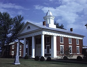 Greene County, Virginia - Image: Greene County Courthouse (Built 1838), Stanardsville, (Greene County, Virginia)