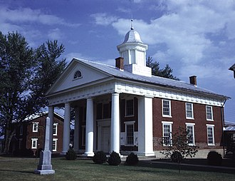 Greene County, Virginia - Image: Greene County Courthouse (Built 1838), Stanardsville, (Greene County, Virginia)