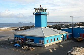 Aasiaat Airport - Image: Greenland Aasiaat