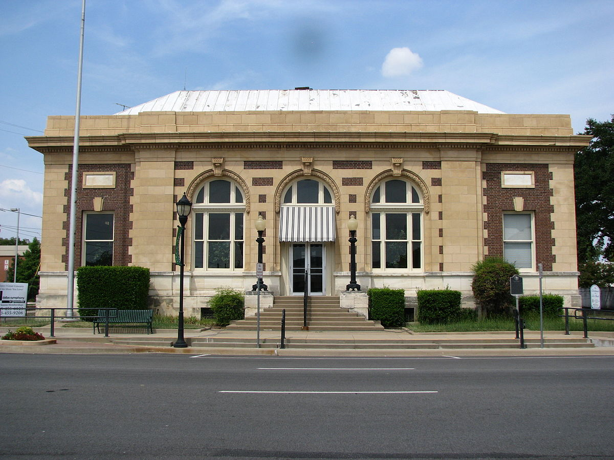 Post Office Building Greenville Texas Wikipedia