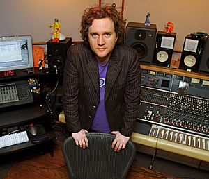 """By the Grace of God (song) - Canadian record producer and frequent collaborator Greg Wells (pictured) co-wrote and co-produced """"By the Grace of God"""" with Perry."""