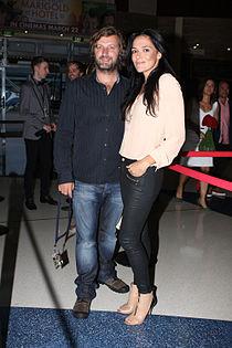 Gregor Jordan and Simone Kessell 2012.jpg
