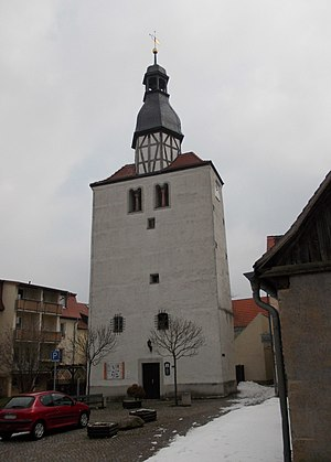 Groitzsch - Image: Groitzsch Stadtturm