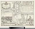 Grondplan van conclaaf en gezichten op Rome, RP-P-OB-36.034.jpg