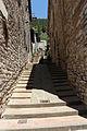 Gubbio, via alessandrini, scalinata.JPG