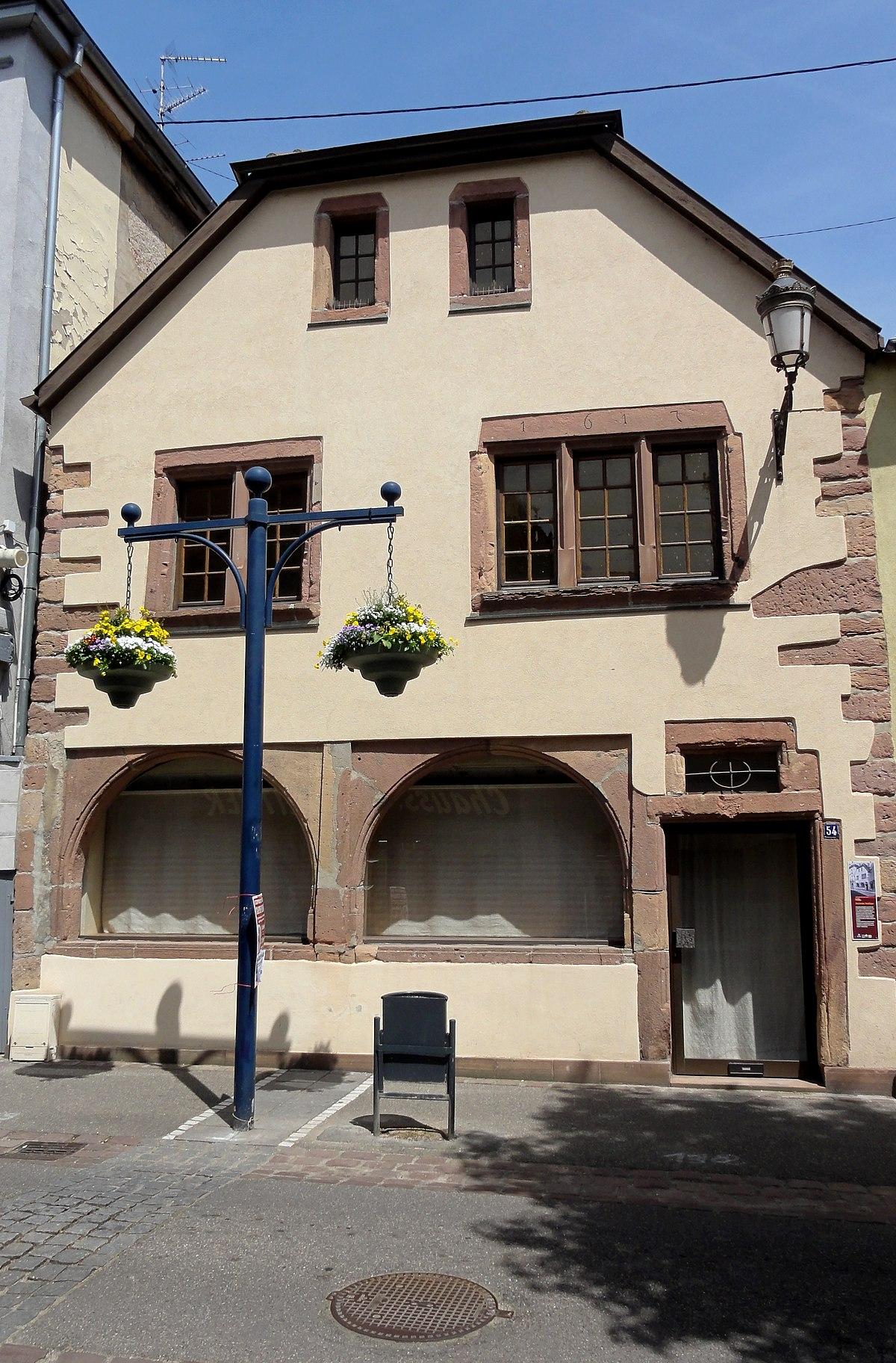 Rue De Guebwiller La Rochelle Villa Mulhouse