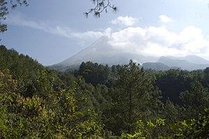 Special Region of Yogyakarta - Image: Gunong Merapi from Kaliurang Q0S7942 Flickr Lip Kee