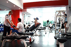 meaning of health club