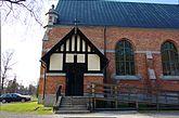 Fil:Hörnefors kyrka Sidoingång 2012-05-22.jpg