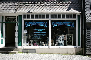 Tattoo artist - Tattoo studio in Hückeswagen, Germany