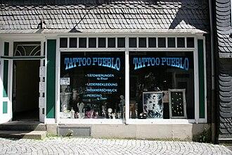 Tattoo artist - Tattoo studio in Hückeswagen, Germany