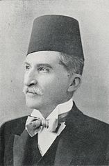 H.B. Moustapha Fehmy Pasha, Prime Minister (1906) - TIMEA (cropped).jpg