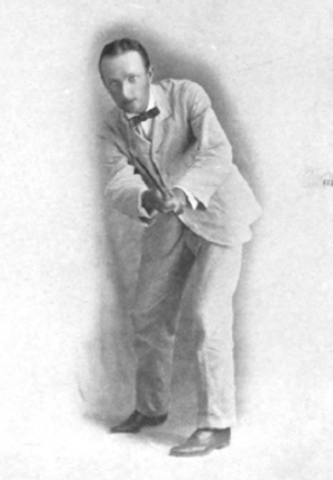 H. J. Whigham - Image: H. J. Whigham, golfer (in follow through)
