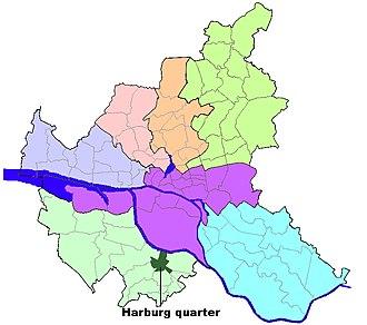 Harburg (quarter) - Image: HH Harburg quarter