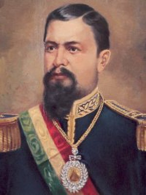 Battle of San Francisco - Hilarión Daza Groselle, President of Bolivia