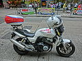HK Shek Tong Tsui Queen's Road West ON CC 東方日報 Oriental Newspaper Motorcycle April 2013.JPG