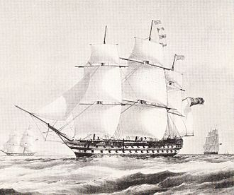 HMS Collingwood (1841) - Image: HMS Collingwood (1841)