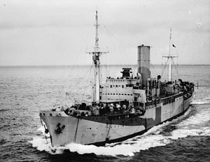 HMS Port Quebec - Image: HMS Port Quebec FL9995