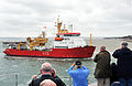 HMS Protector Enters Portsmouth for First Time MOD 45152745.jpg