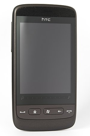 Image of an HTC Touch2 smartphone, also known ...