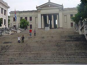 Habana universidad escalinata 30-05-2005