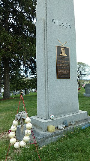 Hack Wilson - Hack Wilson's grave marker, located in Rosedale Cemetery in Martinsburg, West Virginia.