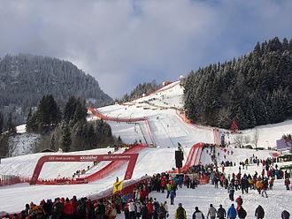 Hahnenkamm, Kitzbühel - Image: Hahnekammrennen 2011