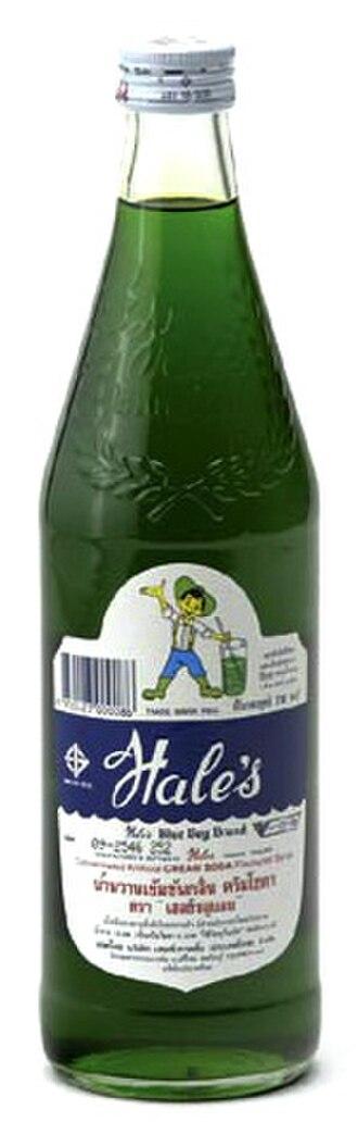 Cream soda - Hale's Blue Boy Cream Soda Syrup