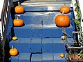 Halloween Pumpkins on Steps - Charlotte - North Carolina - USA (10354424025).jpg