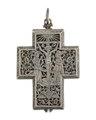 Halsur av silver i form av ett kors, 1600-tal - Hallwylska museet - 110510.tif