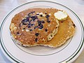 Hamburger Haven Blueberry Pancakes (24379671770).jpg