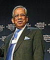 Hamid Karzai, Pervez Musharraf, Fakhruddin Ahmed - World Economic Forum Annual Meeting Davos 2008 cropped.jpg