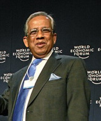 Fakhruddin Ahmed - Ahmed at the World Economic Forum (2008)