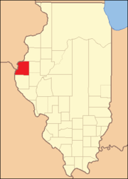 Hancock County Illinois 1825
