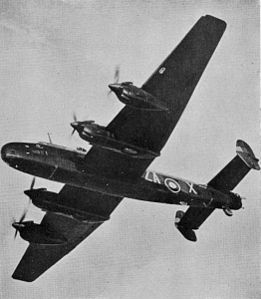 Un Handley Page Halifax in volo