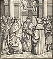 Hans Burgkmair I, The Archbishop Blessing the Child after the Baptism, NGA 47643.jpg