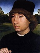 Hans Memling - Portrait of a Young Man before a Landscape - WGA14912.jpg
