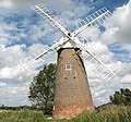 Hardley Mill with new cap, sails and fantail - geograph.org.uk - 1467502.jpg