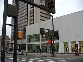 Filiaal Hennes & Mauritz in New York City (Harlem)