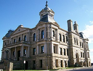 National Register of Historic Places listings in Harrison County, Ohio - Image: Harrison County Courthouse Ohio