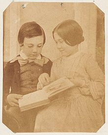 Harry and Amy Dillwyn (children of Lewis Llewelyn Dillwyn) by M. D. 1853 (3947813464).jpg