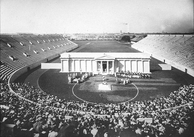 Harvard Stadium - 1903 Greek Play.jpg