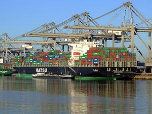 Hatsu Crystal at Amazone harbour, Port of Rotterdam, Holland 17-Feb-2008.jpg