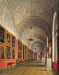 The Northern Part of the Romanov Gallery