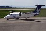 Hawkair Aviation Services, De Havilland Canada DHC-8-102 Dash 8, C-FDNG - YVR (22376102452).jpg