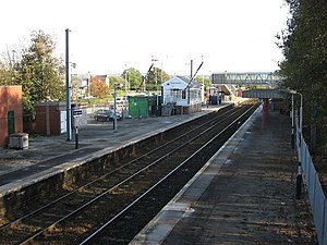 Hazel Grove railway station - Hazel Grove railway Station